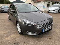 USED 2015 15 FORD FOCUS 1.6 TITANIUM 5d AUTO 124 BHP AUTOMATIC