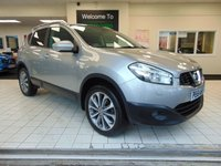 USED 2011 61 NISSAN QASHQAI 1.6 TEKNA DCI 5d 130 BHP MAY 2020 MOT +FULL SERVICE HISTORY +  SATELLITE NAVIGATION + BLUETOOTH + REAR VIEW CAMERA + PANORAMIC ROOF + ALLOYS + PRIVACY GLASS + CD RADIO + FRONT AND SIDE AIRBAGS + CHILD LOCKS + DRIVERS ARMREST + LEATHER TRIM + CLIMATE CONTROL + CRUISE CONTROL