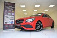 USED 2017 17 MERCEDES-BENZ CLA 220D AMG LINE