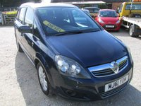 USED 2011 61 VAUXHALL ZAFIRA 1.7 EXCITE CDTI ECOFLEX 5d 108 BHP 7 SEVEN SEATER LOW MILEAGE DIESEL MPV