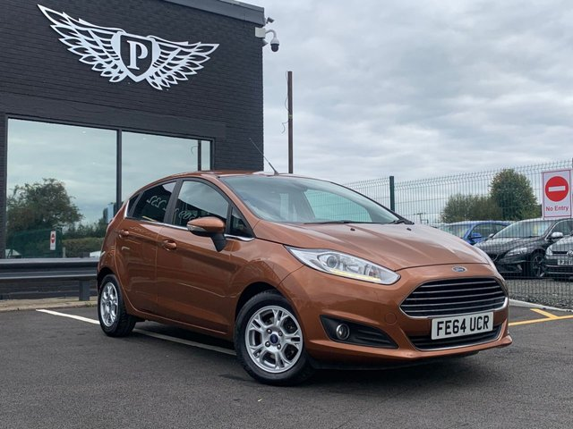 USED 2014 64 FORD FIESTA 1.6 TITANIUM ECONETIC TDCI 5d 94 BHP AA WARRANTY,  MOT AND SERVICE INCLUDED