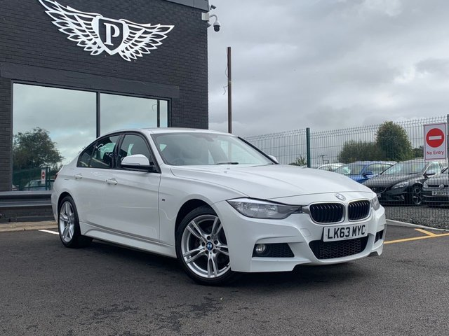 USED 2013 63 BMW 3 SERIES 2.0 320D XDRIVE M SPORT 4d 181 BHP AA WARRANTY,  MOT AND SERVICE INCLUDED