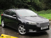 USED 2018 18 FORD FOCUS 1.0 TITANIUM 5d * FULL SERVICE HISTORY * SATELLITE NAVIGATION *
