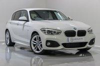 USED 2016 66 BMW 1 SERIES 2.0 118D M SPORT 5d 147 BHP