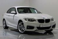 USED 2016 66 BMW 2 SERIES 1.5 218I M SPORT 2d 134 BHP