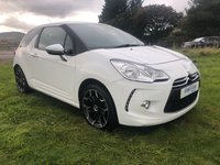 USED 2011 11 CITROEN DS3 1.6 HDI BLACK AND WHITE 3d 90 BHP Only £20 per year road tax!