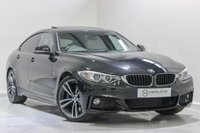 USED 2015 15 BMW 4 SERIES GRAN COUPE 3.0 430D M SPORT GRAN COUPE 4d AUTO 255 BHP