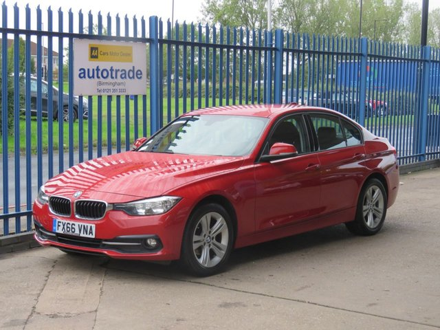 USED 2016 66 BMW 3 SERIES 2.0 318D SPORT 4dr Auto Sat nav Bluetooth & audio Alloys £30 Tax & Great Economy