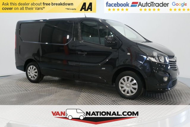 USED 2016 16 VAUXHALL VIVARO 1.6 2700 L1H1 CDTI P/V SPORTIVE ECOFLEX S/S 120 BHP (AIR CON SWB SPORTIVE) * EXTENDED WARRANTIES AVAILABLE FROM JUST £199 *