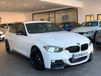 USED 2015 15 BMW 3 SERIES 2.0 320D M SPORT 4d AUTO 181 BHP BM PERFROMANCE STYLING+SAT NAV