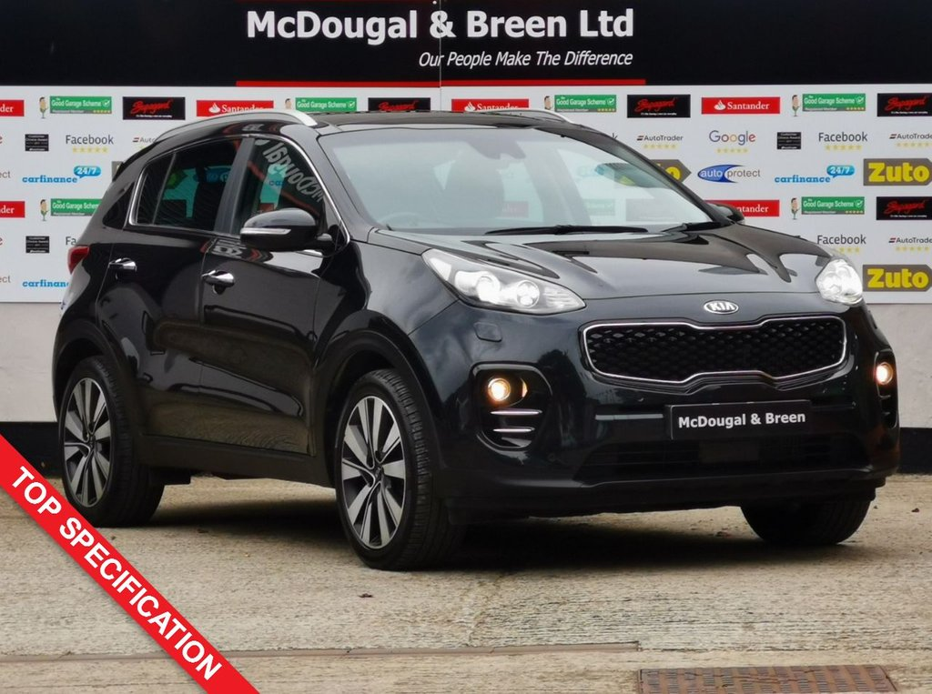 USED 2016 66 KIA SPORTAGE 1.7 CRDI 4 ISG 5d 114 BHP KIA WARRANTY UNTIL SEPTEMBER 2023!! TOP SPEC!