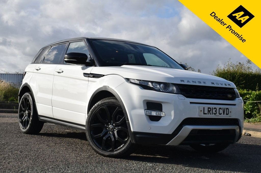 USED 2013 13 LAND ROVER RANGE ROVER EVOQUE 2.2 SD4 DYNAMIC LUX 5d AUTO 190 BHP