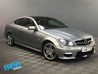 USED 2013 63 MERCEDES-BENZ C CLASS 6.2 C63 AMG 2d AUTO 457 BHP * 0% Deposit Finance Available