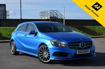 2013 MERCEDES-BENZ A CLASS 1.8 A180 CDI BLUEEFFICIENCY AMG SPORT 5d AUTO 109 BHP £11640.00