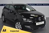 USED 2013 13 VOLKSWAGEN POLO 1.4 MATCH EDITION DSG 5d AUTO 85 BHP (6 STAMP SERVICE HISTORY)