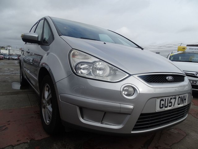 USED 2007 57 FORD S-MAX 2.0 ZETEC TDCI 5d 143 BHP DRIVES GREAT