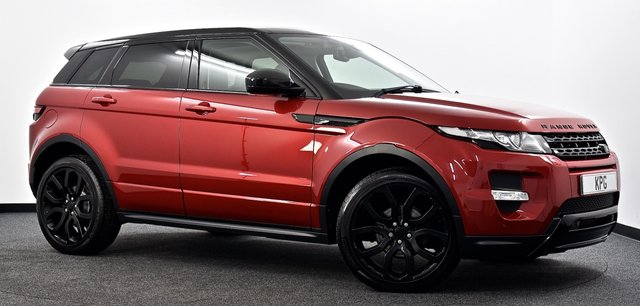 USED 2013 63 LAND ROVER RANGE ROVER EVOQUE 2.2 SD4 Dynamic AWD 5dr Auto Pan Roof, Black Pack, Sat Nav