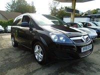 USED 2011 61 VAUXHALL ZAFIRA 1.6 EXCLUSIV 5d 113 BHP