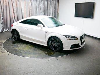 2011 AUDI TT 2.0 TDI QUATTRO S LINE BLACK EDITION 2d 168 BHP £9700.00