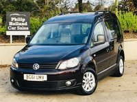USED 2012 61 VOLKSWAGEN CADDY 1.6 C20 LIFE TDI 5d AUTO 101 BHP DRIVE FROM WHEELCHAIR