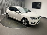 USED 2013 63 SEAT LEON 2.0 TDI FR TECHNOLOGY 5d 150 BHP FREE UK DELIVERY, AIR CONDITIONING, AUTOMATIC HEADLIGHTS, BLUETOOTH CONNECTIVITY, CLIMATE CONTROL, CRUISE CONTROL, DAB RADIO, HEATED DOOR MIRRORS, PARKING SENSORS, START/STOP SYSTEM, STEERING WHEEL CONTROLS, TRIP COMPUTER, USB INPUT