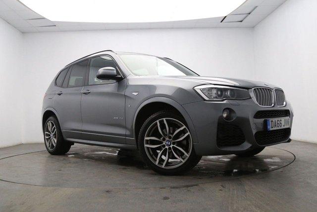 2016 66 BMW X3 3.0 XDRIVE35D M SPORT 5d AUTO 309 BHP