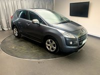 USED 2011 61 PEUGEOT 3008 1.6 EXCLUSIVE 5d 120 BHP FREE UK DELIVERY, AIR CONDITIONING, CD/MP3/RADIO, CLIMATE CONTROL, CRUISE CONTROL, ELECTRONIC PARKING BRAKE, HEADS UP DISPLAY, PANORAMIC GLASS ROOF, STEERING WHEEL CONTROLS, TRIP COMPUTER