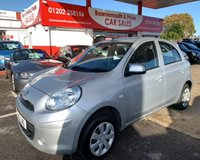 USED 2013 13 NISSAN MICRA 1.2 30 VISIA 5 DOOR *ONLY 14,000 MILES*