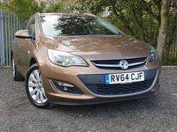 2014 VAUXHALL ASTRA 2.0 ELITE CDTI 5d AUTO 163 BHP £6500.00