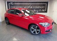 2014 BMW 1 SERIES 2.0 116D SPORT 5d 114 BHP + 1 FORMER KEEPER + 2 KEYS £6500.00