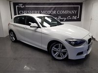 USED 2013 13 BMW 1 SERIES 2.0 116D M SPORT 5d 114 BHP + PARKING SENSORS + EXTRAS
