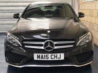 USED 2015 15 MERCEDES-BENZ C CLASS 2.1 C220 CDI BlueTEC AMG Line Saloon 4dr Diesel G-Tronic+ (s/s) (170 ps) +FULL SERVICE+WARRANTY+