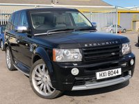 """USED 2009 LAND ROVER RANGE ROVER SPORT 2.7 TDV6 SPORT HSE 5d AUTO 188 BHP *EXCLUSIVE EDITION, 22"""" ALLOY WHEELS, HIGH SPEC!*"""