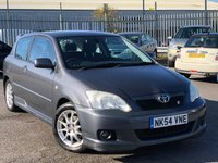 USED 2004 54 TOYOTA COROLLA 1.7 T SPORT VVTL-I 3d 189 BHP *AIR CONDITIONING, TWO TONE INTERIOR, ONLY 88K MILES!*