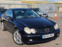 USED 2004 54 MERCEDES-BENZ CLK 5.0 CLK500 AVANTGARDE 2d AUTO 302 BHP *RARE CLK500, COMAND SATELLITE NAVIGATION, PARKTRONIC PARKING SENSORS SYSTEM!*