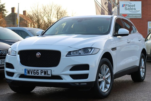 USED 2016 66 JAGUAR F-PACE 2.0 PRESTIGE AWD 5d AUTO 178 BHP SATELLITE NAVIGATION, HEATED SEATS, FRONT AND REAR PARKING SENSORS