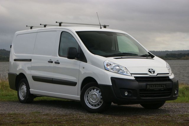 2016 65 TOYOTA PROACE - NO VAT TO PAY!!! -  2.0 L2H1 HDI 1200 P/V 127 BHP