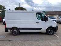 USED 2014 64 VAUXHALL MOVANO 2.3 F2800 L1H1 SWB CDTI 125 BHP LOW MILES