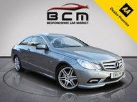 2011 MERCEDES-BENZ E CLASS 3.0 E350 CDI BLUEEFFICIENCY SPORT 2d AUTO 265 BHP £7985.00