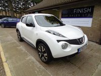 USED 2014 63 NISSAN JUKE 1.5 DCI N-TEC 5d 109 BHP * FULL SERVICE HISTORY * 2 KEYS * SAT-NAV * £20 ROAD TAX * PARKING CAMERA *
