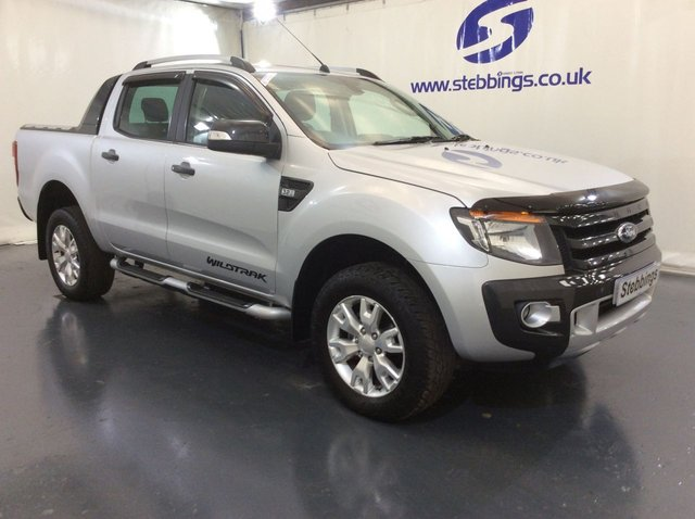 2015 65 FORD RANGER 3.2 WILDTRAK 4X4 DOUBLE CAB PICK UP TDCI 4d 197 BHP