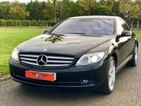 USED 2007 57 MERCEDES-BENZ CL 5.5 CL 500 V8 AUTO 383 BHP 2 DR COUPE +13 SERVICES+SUNROOF+AMG ALLOYS