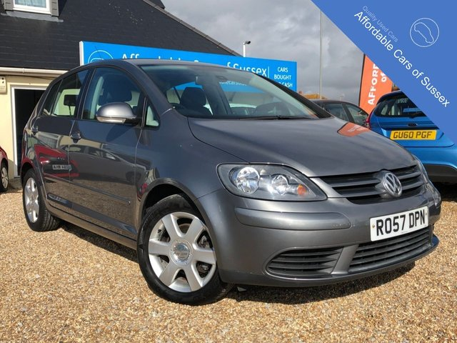 2007 57 VOLKSWAGEN GOLF PLUS 1.6 SE 5d 114 BHP