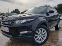 USED 2015 15 LAND ROVER RANGE ROVER EVOQUE 2.2 ED4 PURE TECH 5d 150 BHP TECHPACK+18ALLOYS+CLIMATE+PARKING+2KEYS+NAV+LEATHER+PRIVGLASS+