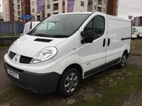 USED 2014 14 RENAULT TRAFIC 2.0 SL27 SPORT DCI S/R P/V 1 OWNER 115 BHP