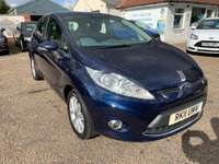USED 2011 11 FORD FIESTA 1.2 ZETEC 5d 81 BHP ONE YEAR WARRANTY INCLUDED / VOICE COMMS / USB / BLUETOOTH