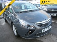 USED 2013 13 VAUXHALL ZAFIRA TOURER 7 SEATER 1.4 SE S/S 5d 138 BHP