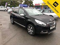 2016 PEUGEOT 2008 1.2 PURETECH S/S ALLURE 5d AUTO 110 BHP IN METALLIC BLACK WITH 39600 MILES, FULL SERVICE HISTORY, 1 OWNER AND IS ULEZ COMPLIANT  £9999.00