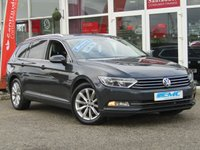 USED 2016 66 VOLKSWAGEN PASSAT 2.0 SE BUSINESS TDI BLUEMOTION TECHNOLOGY 5d 148 BHP STUNNING, VW PASSAT 2.0 TDI SE BUSINESS BLUEMOTION TECHNOLOGY 150BHP. Finished in URANO GREY with contrasting GREY trim. This latest solid edition looks and drives great. This desirable model offers great space, comfort and lovely spec. Features include Sat Nav, DAB radio, Elec Seats, Cruise, B/Tooth, Power Folding Door Mirrors and much more. Lookers VW Dealer serviced at 19537 miles, 38978 miles and at 57867 miles.