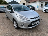 USED 2010 60 FORD FIESTA 1.2 ZETEC 3d 81 BHP VOICE COMM / USB / BLUETOOTH